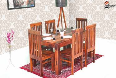 Gracia Dining Set with 6 Chairs