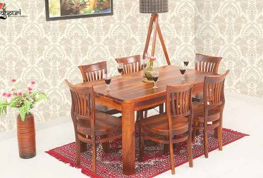 Clarence Dining Set with 6 Chairs