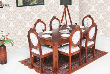 Dylan Dining Set with 6 Chairs