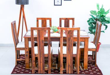 Willie 6 seater dining set