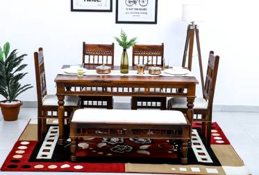 Gaz 6 seater dining set