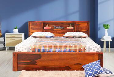 Hana King Size Bed with Hydraulic Storage