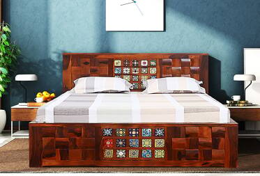 Josy King Size Bed with Storage