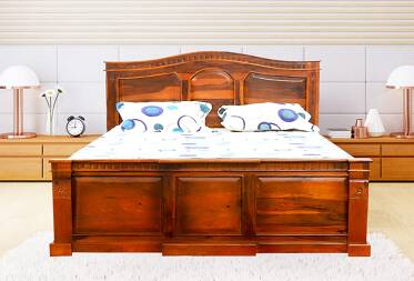 Maeve King Size Bed with Storage
