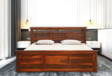Casper King Size Bed With Storage