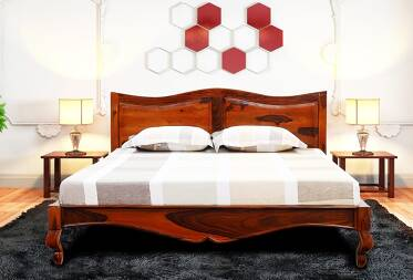 Azalea King Size Bed