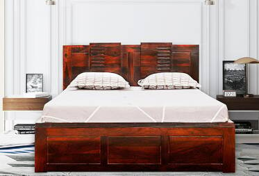 Dwayne King Size Bed with Drawer Storage
