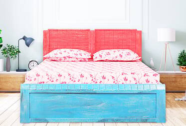 Bruno King Size Bed with Storage