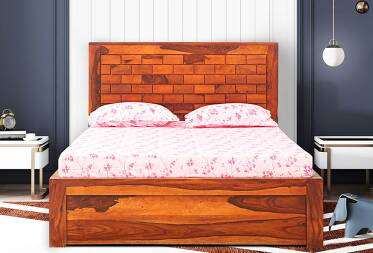 Rivera Queen Size Bed with Storage