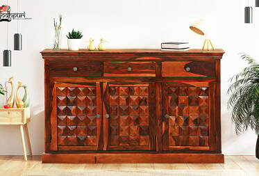 Scott Sheesham solid wood Sideboard
