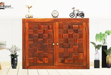 Kyra sheesham solid wood Cabinet