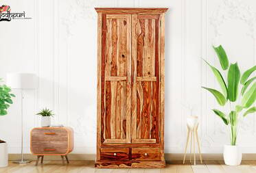 Gellar Sheesham Two Door Wardrobe