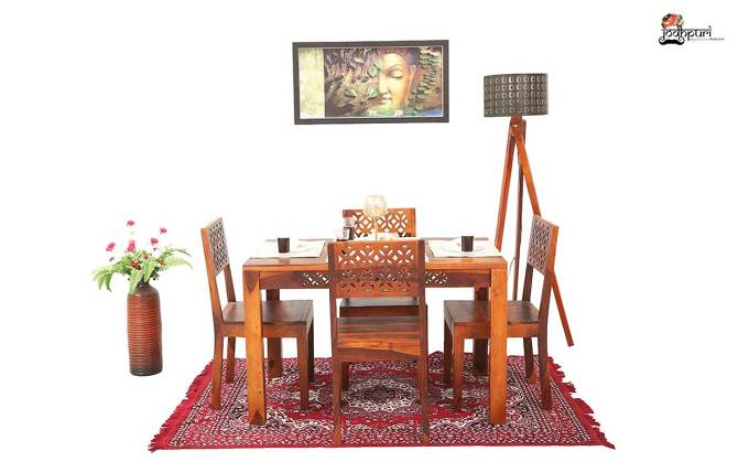 Pearl 4 Seater Dining Set