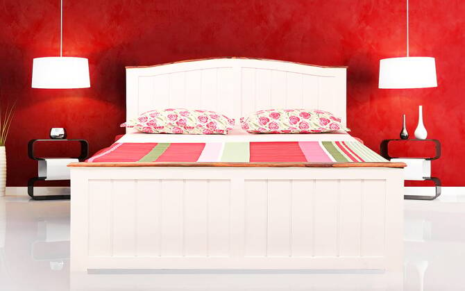 Chelsa King Size Bed with Drawer Storage